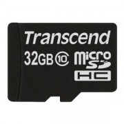 Transcend 32GB NAND Flash Micro SDHC (SD2.0 Class 10) (TS32GUSDC10)