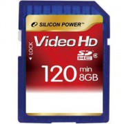 Silicon Power 8GB Flash SDHC Class 6 (SP008GBSDH006V30)