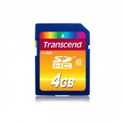 Transcend 4GB NAND Flash SDHC 4GB Class 10 (TS4GSDHC10)