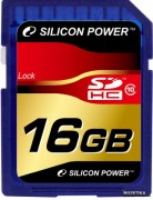 Silicon Power 16GB Flash SDHC Class 10 (SP016GBSDH010V10)
