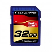 Silicon Power 32GB Flash SDHC Class 4 (SP032GBSDH004V10)